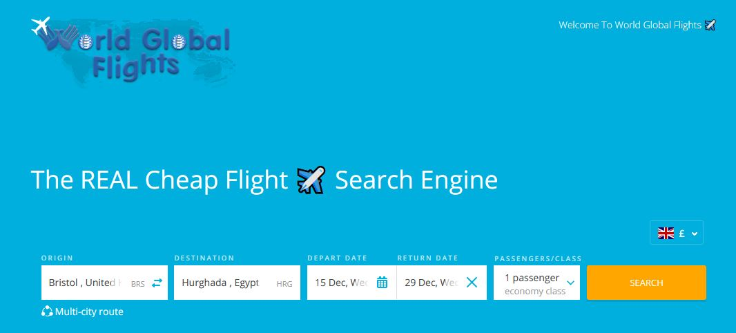 World Global Flights - CHEAP FLIGHTS
